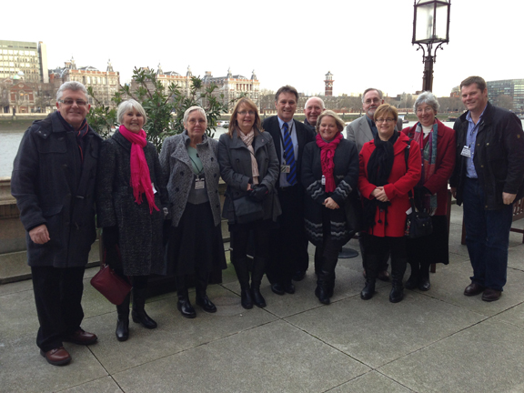 Craig Whittaker MP on a Christmas trip with constituents